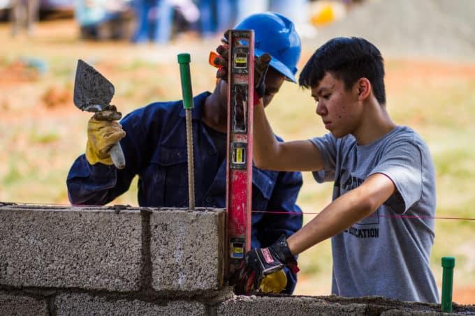 weimar academy mission trips kenya 2019 construction