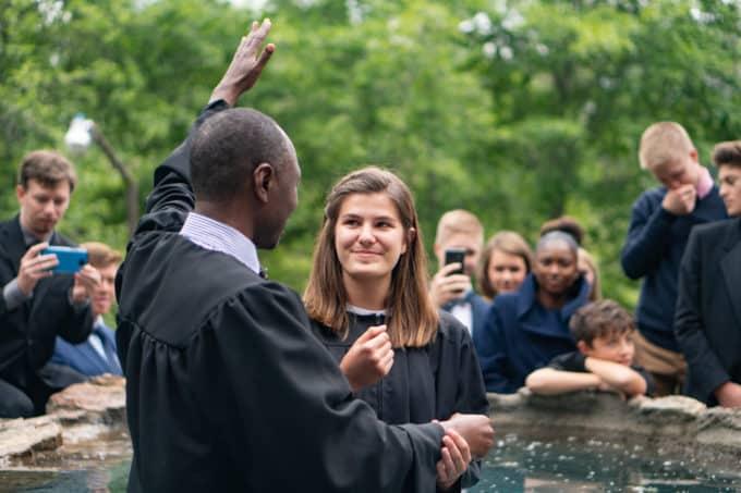 weimar academy baptism